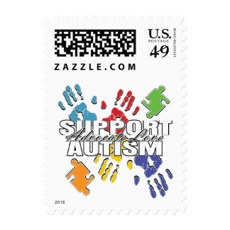 Autism Advocacy Handprints Stamps