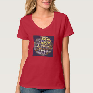 Autism Advocate and Educate Circle T-Shirt  GTK