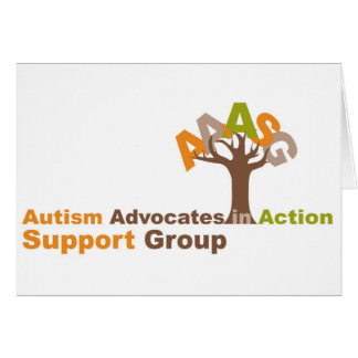 Autism Advocates in Action Thanks You Card