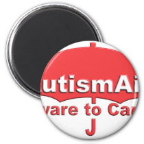 Autism Aid aware To care Magnet