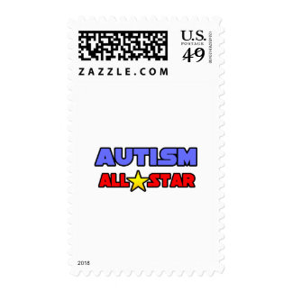 Autism All Star Stamp