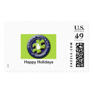 Autism Alliance of Michigan Holiday Stamps