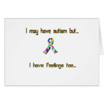 Autism and Feelings Too Card