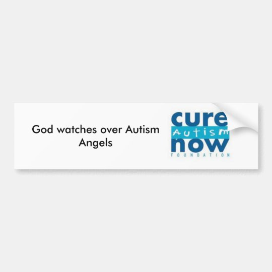 Autism Angels Bumper Sticker