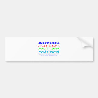 Autism Anyway You Look At It Bumper Sticker