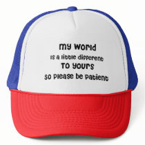Autism, Aspergers, Special Needs Awareness Trucker Hat