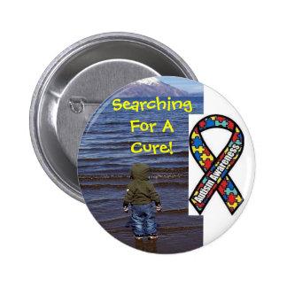 Autism Assistance Button...Please Help! Pinback Button