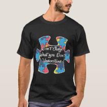 Autism athiest  t-shirts