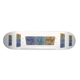 Autism-Au-Ti-Sm-Gold-Titanium-Samarium Skate Boards
