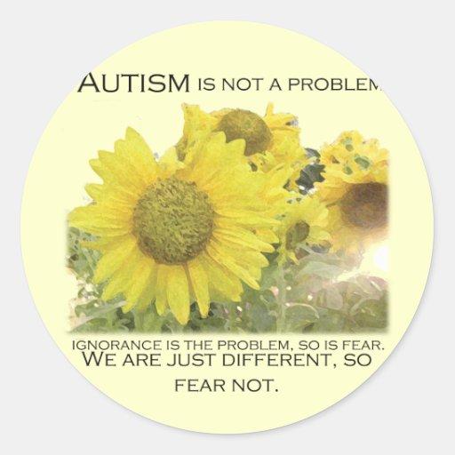Autism Aware Sticker
