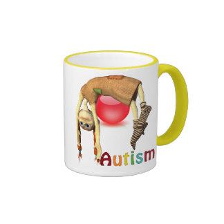 Autism Awareness#11 Ringer Mug