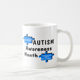 Autism Awareness 1 In 150 1 Every 20 Minutes Coffee Mug