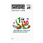 AUTISM AWARENESS 1 IN 150 HOW HIGH? POSTAGE