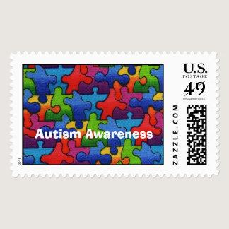 Autism Awareness 1 Postage