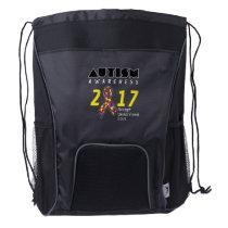 Autism awareness 2017 Autism Drawstring Backpack