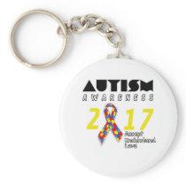 Autism awareness 2017 Autism Keychain