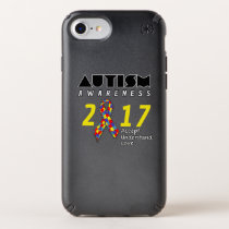 Autism awareness 2017 Autism Speck iPhone Case