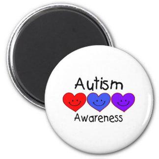 Autism Awareness 2 Inch Round Magnet