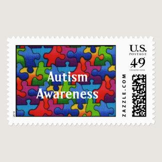 Autism Awareness 2 Postage