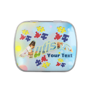 Autism awareness #3 Jelly Belly™ Candy Tin