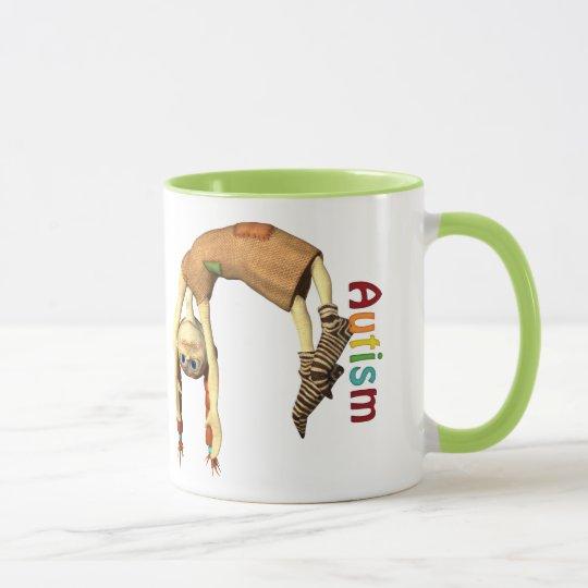 Autism Awareness#3 Ringer Mug