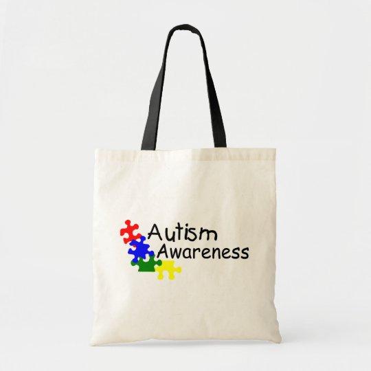 Autism Awareness (4 PP) Tote Bag