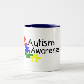 Autism Awareness (4 PP) Two-Tone Coffee Mug