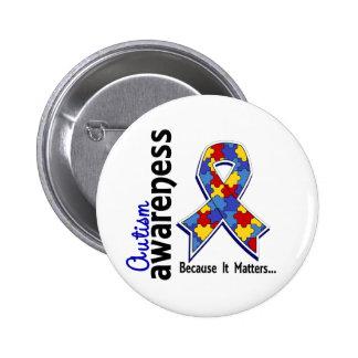 Autism Awareness 5 Button