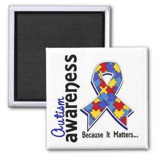 Autism Awareness 5 Magnet