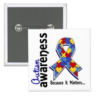 Autism Awareness Because It Matters Pin