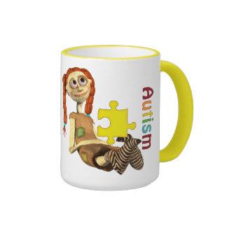 Autism Awareness#6 Ringer Mug