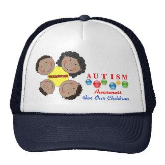 Autism awareness 9 Hat