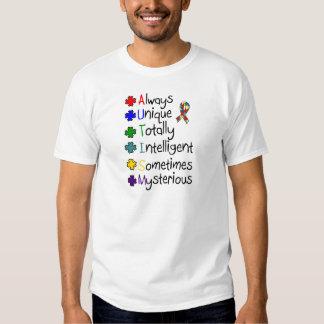 Autism Awareness A-U-T-I-S-M T-shirt