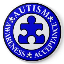 Autism Awareness Acceptance Pin
