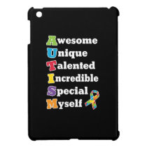 Autism Awareness Acronym Case For The iPad Mini