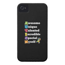 Autism Awareness Acronym Case-Mate iPhone 4 Case