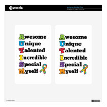 Autism Awareness Acronym Decal For Kindle Fire