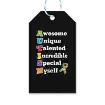 Autism Awareness Acronym Gift Tags