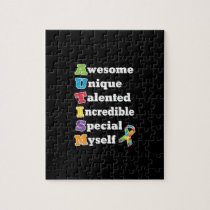 Autism Awareness Acronym Jigsaw Puzzle