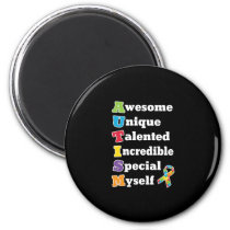 Autism Awareness Acronym Magnet