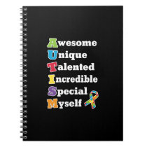 Autism Awareness Acronym Notebook