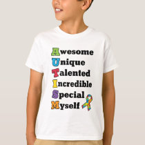 Autism Awareness Acronym T-Shirt