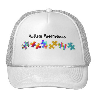 Autism Awareness (All White) Hat