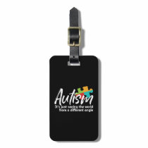 Autism Awareness and Support for Autistic Children Luggage Tag