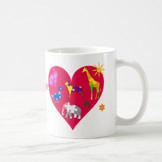 Autism Awareness Animals Coffee Mug