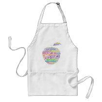 Autism Awareness Apple Design Products Adult Apron