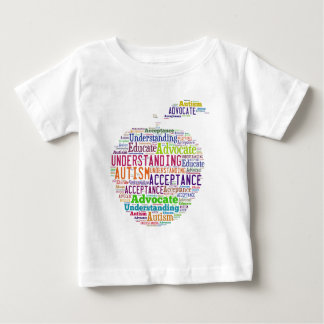 Autism Awareness Apple Design Products Baby T-Shirt