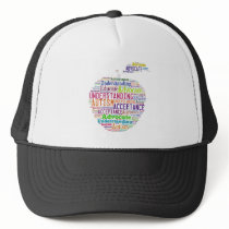 Autism Awareness Apple Design Products Trucker Hat