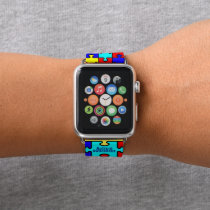Autism Awareness - Apple Watch Band, 42 mm Apple Watch Band