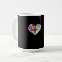 Autism Awareness Autism Heart Autism Love Coffee Mug